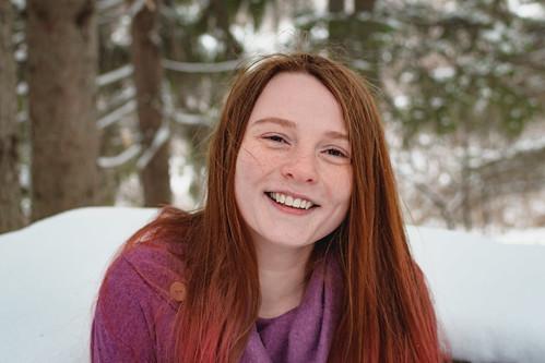 Sarah in Winter 1