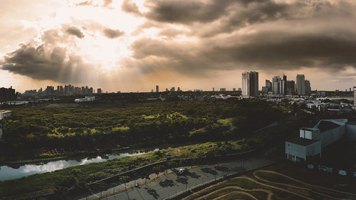 dji skyline ph manila colors drama