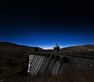Craig Goch by moonligh horizontal