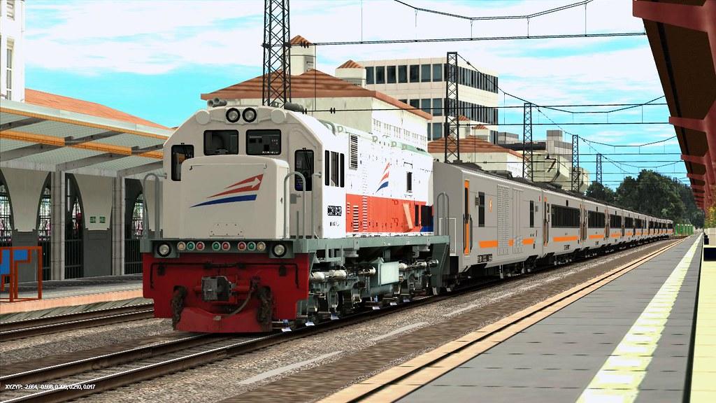 Trainz12 Indonesia - KA Tawang Jaya Premium | Trainz Simulator