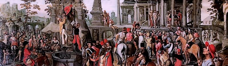 IMG_3006TA Joachim Beuckelaer 1530-1574 Anvers   Marché avec l'Ecce Homo. Market with Ecce Homo vers 1561  Nancy Musée des Beaux Arts