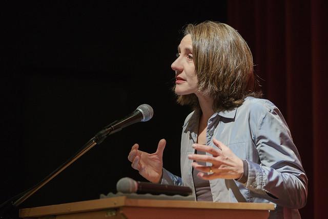 Dr. Ellen Ueberschär (Vorstand Heinrich-Böll-Stiftung), Foto: Bodo Gierga