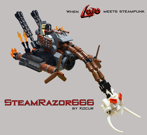 SteamRazor666 00 Overview | by kocurvelox
