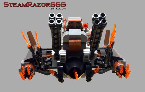 SteamRazor666 02 Back | by kocurvelox