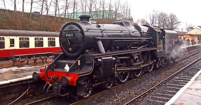 'Black 5' 45212 - 5MT 4-6-0