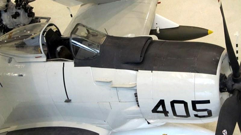 道格拉斯的一个-1H空中袭击者1
