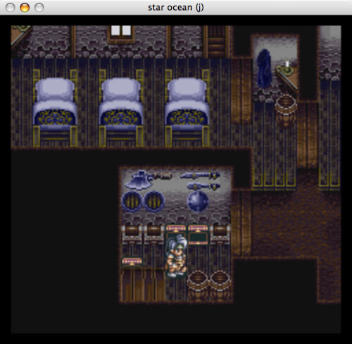 Star Ocean on Snes9x