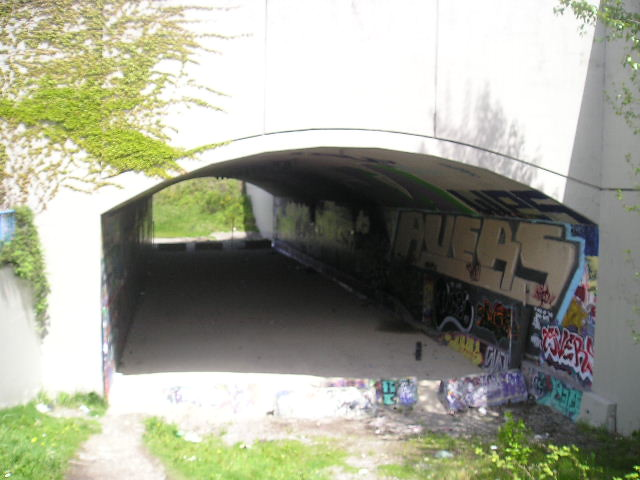 South Side of Leeside Tunnel Underneath Hastings