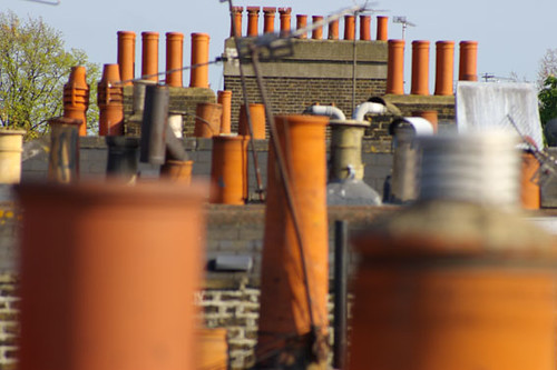 26 Chimney pots on roof | by nakwoodford
