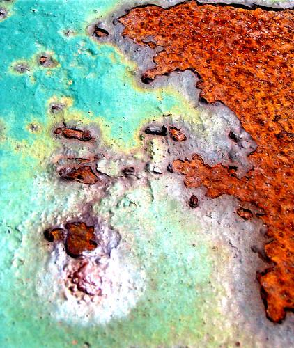 Continent? Map? . . . Rust?   by Marie-Elen Lauzière
