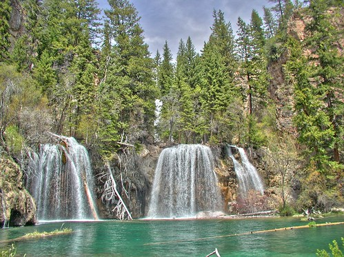Wallpaper | Hanging Lake, near Glenwood Springs. There's a ...