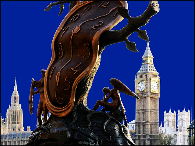 Big Ben runs on time
