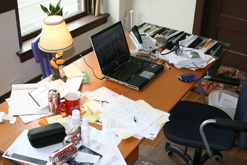 My messy desk | by ninahale