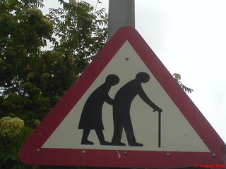 Old People Sign | by rileyroxx