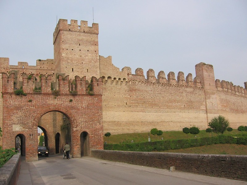 City gate of Cittadella, Italy
