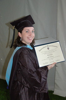 Debbie has a Masters degree | by Rich Moffitt