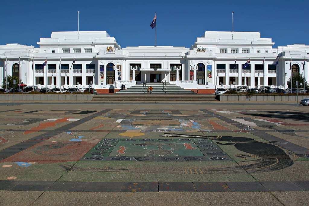Image: Old Parliament House, Canberra