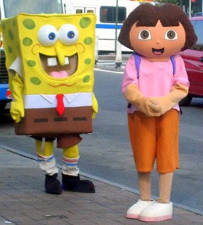 Dora and Sponge Bob | by Pink Orchid Dreams