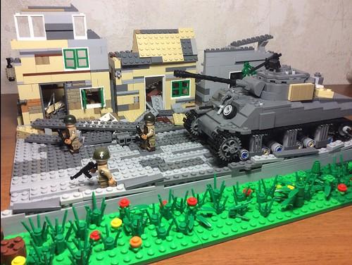 1944. #ww2#lego#101'st airborne
