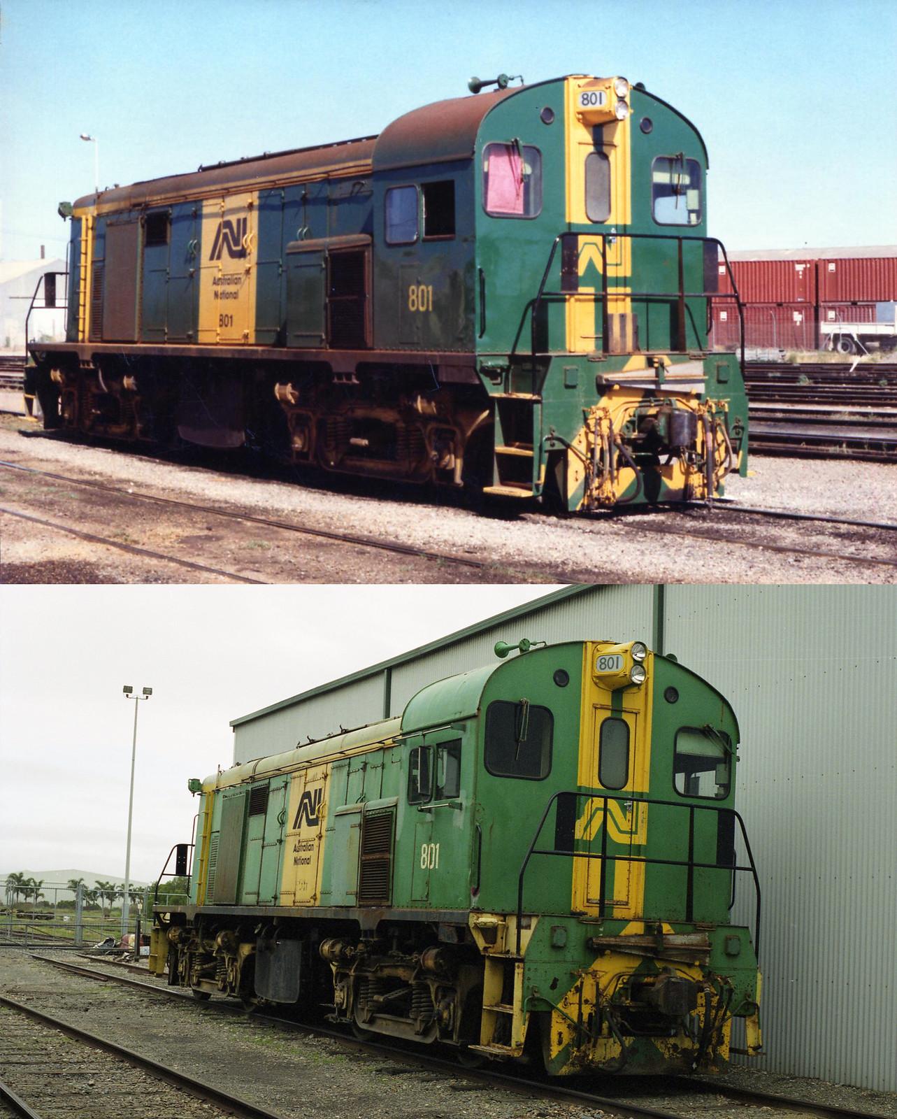 Loco 801 - Age Comparison by Ryan Smith