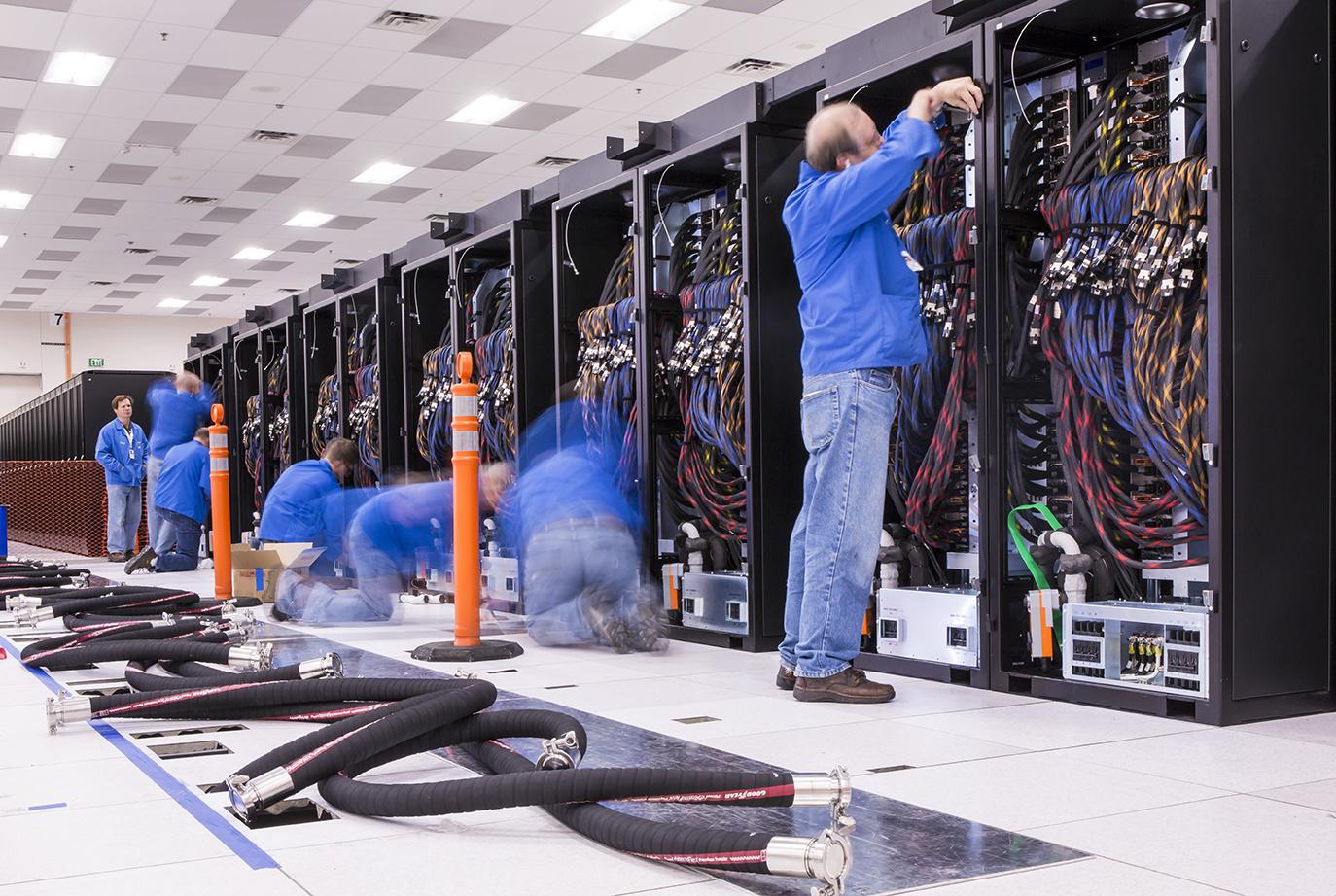 Supercomputer building blocks