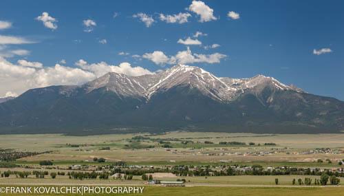 Views from near Buena Vista, CO