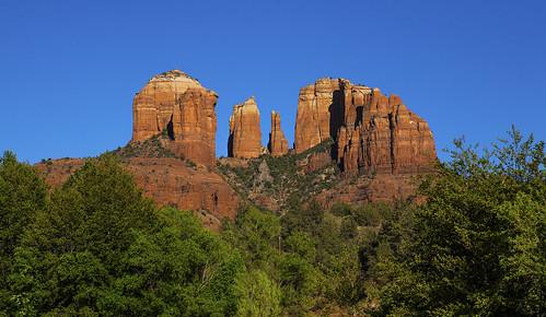 trees vacation arizona southwest rock clouds desert sedona tourist monsoon redrock arid juniper