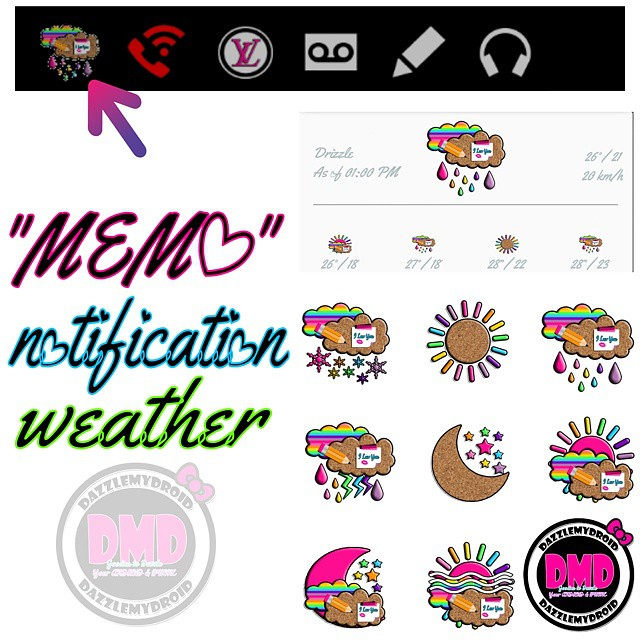 MEMO notification weather app going up on my blog now to m