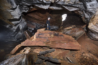 Alfred Crabtree, Tires-to-Spare Cave, Putnam County, Tennessee 5 | by Chuck Sutherland