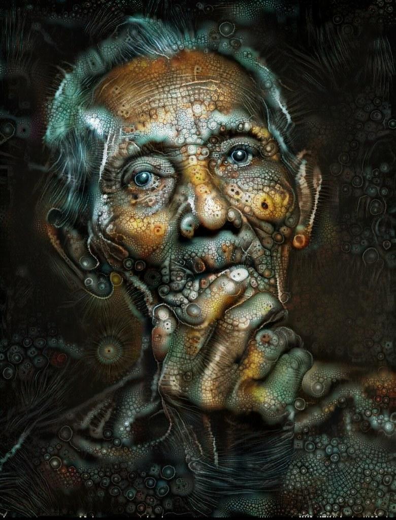 Oldman from Bali