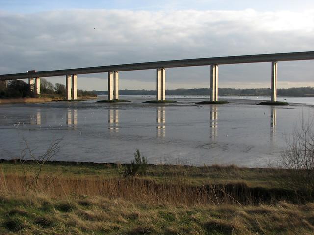 The Orwell Bridge, Ipswich