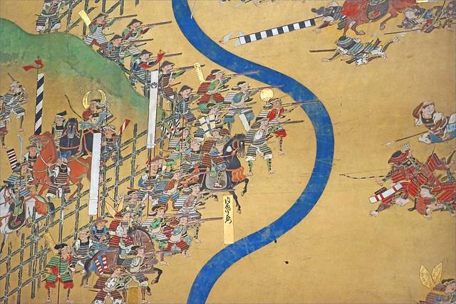 La bataille de Nagashino (Musée Guimet / MNAAG, Paris)