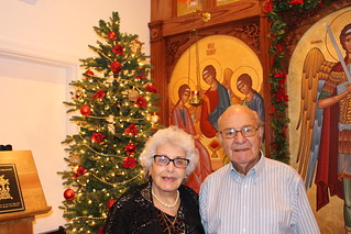 Moussa Family at Christmas   by Holy Spirit Orthodox Church
