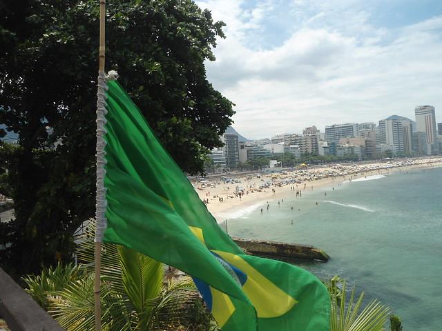 «La Verde-amarela», Mirante do Leblon, Carnaval de Río de Janeiro 2017, Leblon & Ipanema, Brasil/Leblon Lookout, Rio Carnival 2017, Leblon & Ipanema, Brazil - www.meEncantaViajar.com