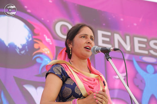 Devotional song by Poonam from Yamuna Nagar
