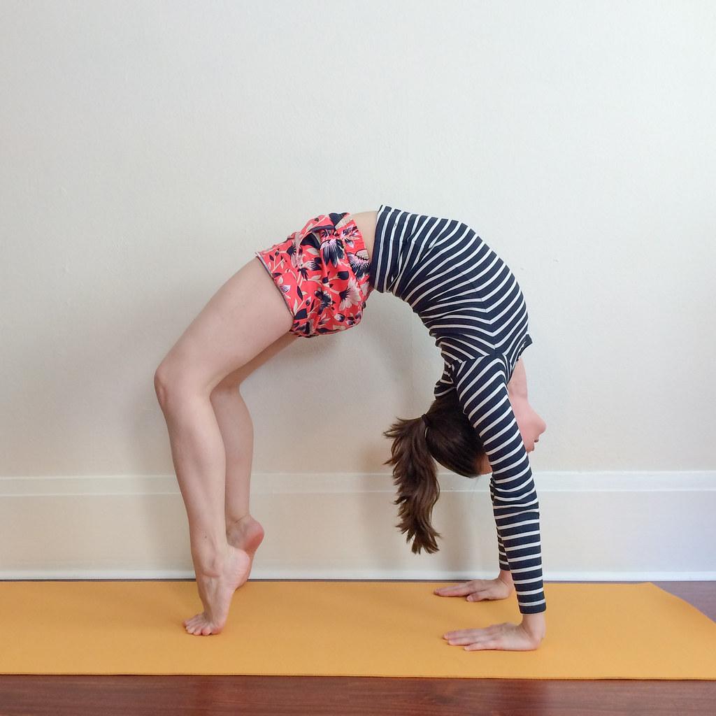 Mary Specht - Yoga Urdhva Dhanurasana