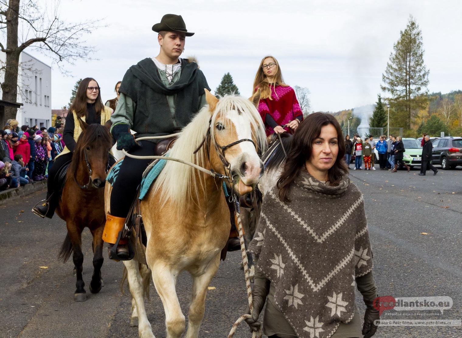 Tradiční Svatohubertské slavnosti v Hejnicích 2018