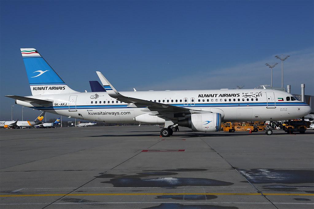 9K-AKJ A320 Kuwait MUC 20181105