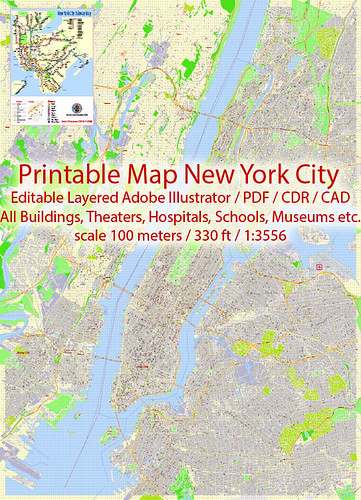 new york city pdf map us exact detailed city plan scale