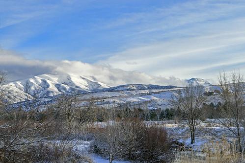 winter pocatello southeastidaho portneufriver bannockrange