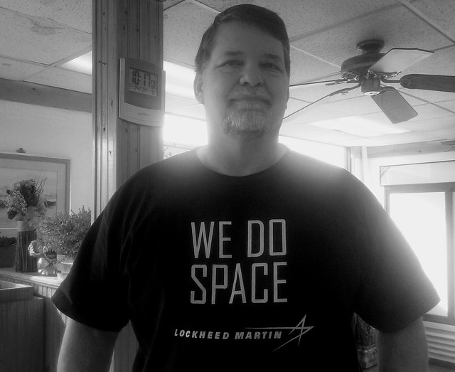 Proud worker of  merchant of death Lockheed Martin. We do wars, but pretend