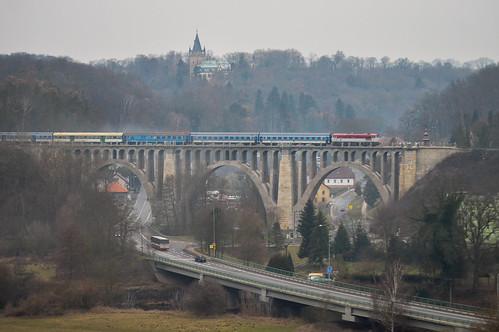 749.107 na R 1146 Stránovský viadukt 2.2.2019 | by Tomáš Pelech
