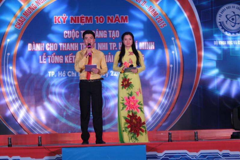 Cuộc thi Sáng tạo thanh thiếu nhi TP. HCM lần 10 năm 2015