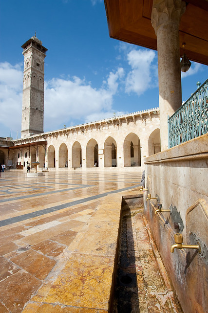 The great mosque in Aleppo