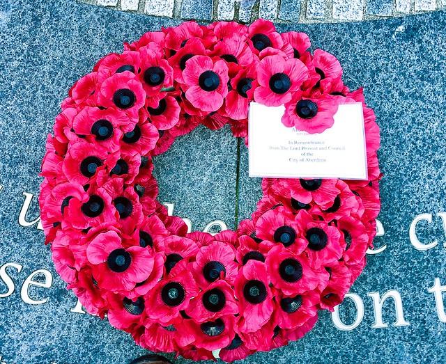 War Memorials - Footdee Aberdeen Scotland - 11/11/2018