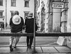 A couple (and an apple in the hand) _IGP8971_cr_ps_crop_bnw2_w by shammuramat (on/off sorry, be bk soon)