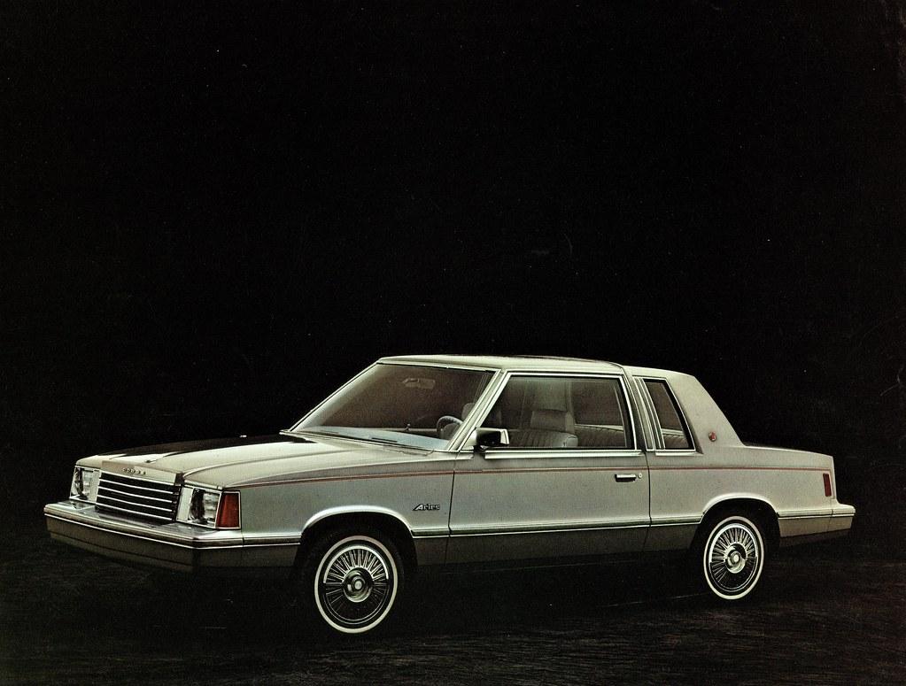 1981 Dodge Aries K Car Two Door Sedan Alden Jewell Flickr