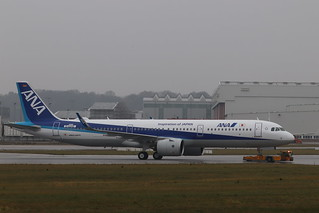 A321neo All Nippon Airways JA140A   by XFW-Spotter