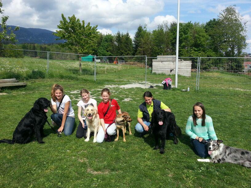 Trainingsimpressionen Jugend und Hund 2016