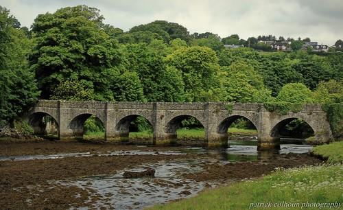 castlebridge buncrana donegal ireland historic landscape nature cranariver arches countydonegal ulster sonydsch400